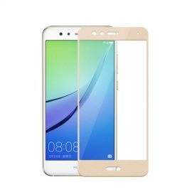 Full Cover Tempered Glass Huawei P10 Lite - Goud