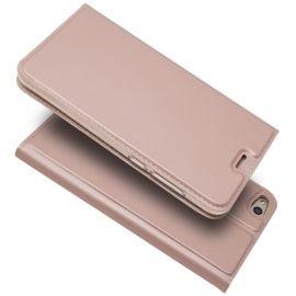 Folio Book Case Huawei P8 Lite (2017) - Rose Gold