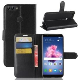 Book Case Hoesje Huawei P Smart - Zwart
