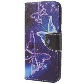 Book Case Hoesje Samsung Galaxy S9 Plus - Vlinders