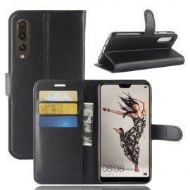 Book Case Hoesje Huawei P20 Pro - Zwart