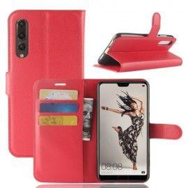 Book Case Hoesje Huawei P20 Pro - Rood