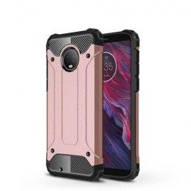 Armor Hybrid Hoesje Motorola Moto G6 - Rose Gold