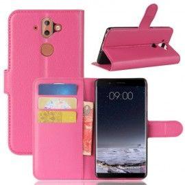 Book Case Hoesje Nokia 8 Sirocco - Roze
