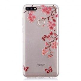 Design TPU Hoesje Huawei Y7 (2018) - Flowers