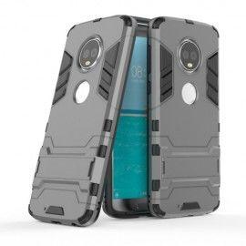 Armor Kickstand Case Motorola Moto G6 Plus - Grijs