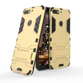 Armor Kickstand Case Huawei Y7 (2018) - Goud