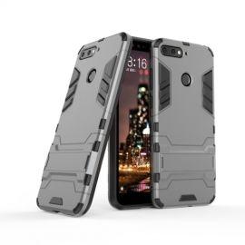 Armor Kickstand Case Huawei Y6 (2018) - Grijs