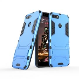 Armor Kickstand Case Huawei Y6 (2018) - Lichtblauw