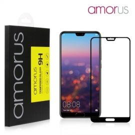 Full-Cover Tempered Glass Huawei P20 Pro - Zwart