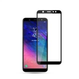Full-Cover Tempered Glass Samsung Galaxy A6 Plus (2018) - Zwart