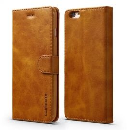 Luxe Book Case iPhone 6 / 6s Hoesje - Bruin