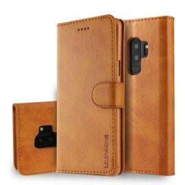 Luxe Book Case Samsung Galaxy S9 Plus Hoesje - Bruin