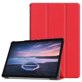 Smart Book Case Samsung Galaxy Tab S4 10.5 Hoesje - Rood