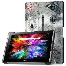 Tri-Fold Book Case Acer Iconia Tab 10 A3-A50 Hoesje - Eiffeltoren