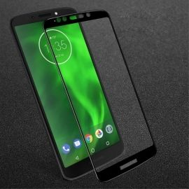 Full-Cover Tempered Glass Motorola G6 Play / E5 - Zwart