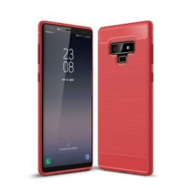Armor Brushed TPU Samsung Galaxy Note 9 Hoesje - Rood