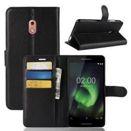 Book Case Nokia 2.1 Hoesje - Zwart