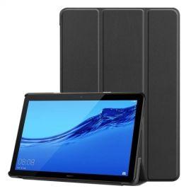 Tri-Fold Book Case Huawei MediaPad T5 10 Hoesje - Zwart