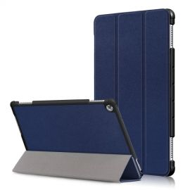 Tri-Fold Book Case Huawei MediaPad M5 Lite 10 Hoesje - Blauw