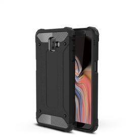 Armor Hybrid Samsung Galaxy J6 Plus Hoesje - Zwart