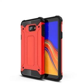 Armor Hybrid Samsung Galaxy J4 Plus Hoesje - Rood