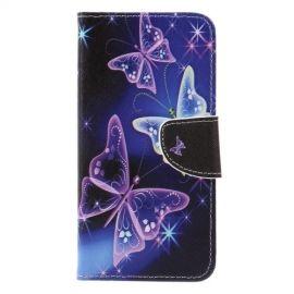 Book Case Huawei Mate 20 Lite Hoesje - Vlinders