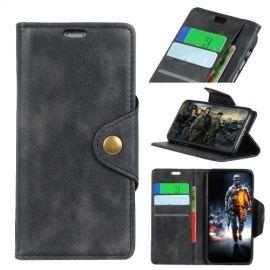 Luxe Book Case Motorola Moto E5 Play Hoesje - Zwart