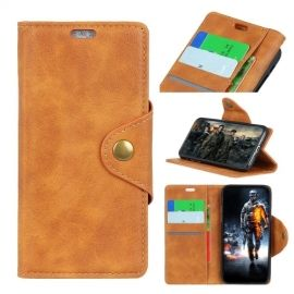 Luxe Book Case Motorola Moto E5 Play Hoesje - Bruin