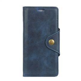 Luxe Book Case Motorola Moto E5 Play Hoesje - Blauw