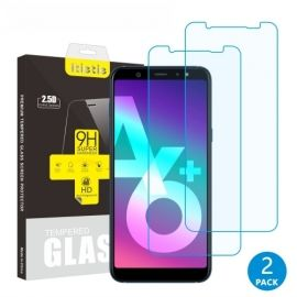 Tempered Glass Duo Pack Samsung Galaxy A6 Plus (2018)