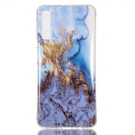 Marmer Design TPU Samsung Galaxy A7 (2018) Hoesje