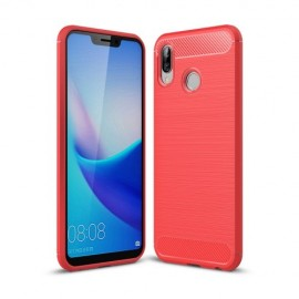 Armor Brushed TPU Honor Play Hoesje - Rood