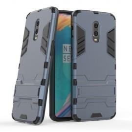 Armor Kickstand OnePlus 6T Hoesje - Blauw