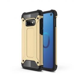 Armor Hybrid Samsung Galaxy S10e Hoesje - Goud