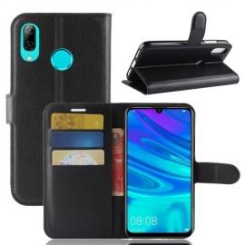 Book Case Huawei P30 Lite Hoesje - Zwart