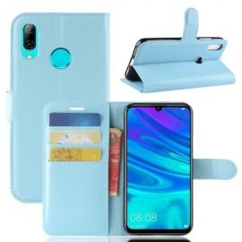 Book Case Huawei P30 Lite Hoesje - Lichtblauw