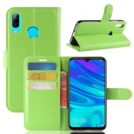 Book Case Huawei P30 Lite Hoesje - Groen