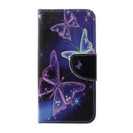 Book Case Samsung Galaxy S10 Plus Hoesje - Vlinder