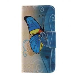 Book Case Samsung Galaxy S10 Plus Hoesje - Blauwe Vlinder