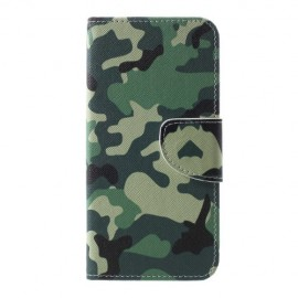 Book Case Samsung Galaxy S10 Hoesje - Camouflage