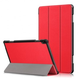 Smart Book Case Lenovo Tab P10 Hoesje - Rood