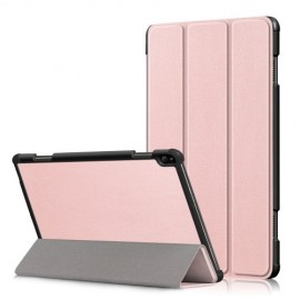 Smart Book Case Lenovo Tab P10 Hoesje - Rose Gold