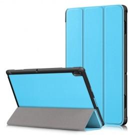 Tri-Fold Book Case Lenovo Tab E10 Hoesje - Lichtblauw