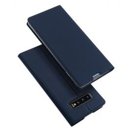 Dux Ducis Skin Pro Samsung Galaxy S10 Plus Hoesje - Blauw