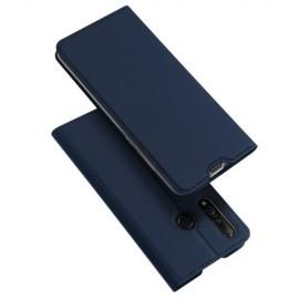 Dux Ducis Skin Pro Huawei P30 Lite Hoesje - Blauw