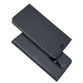 Folio Case Nokia 5.1 Plus Hoesje - Donkergrijs