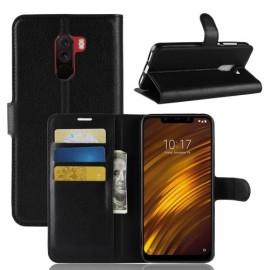 Book Case Xiaomi Pocophone F1 Hoesje - Zwart