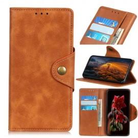 Luxe Book Case Samsung Galaxy A50 Hoesje - Bruin