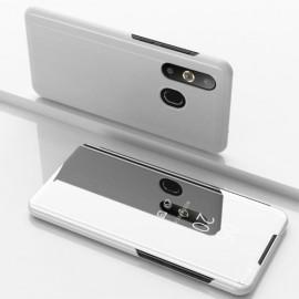 Mirror View Case Samsung Galaxy A50 / A30s Hoesje - Zilver